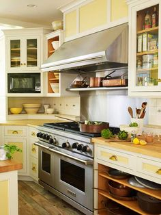 Double Color Kitchen Cabinets