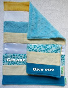 Baby Sensory Security Blanket Lovey - tropical sun - Get One, Give One to babies in Kenya, $30.00