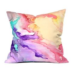 Rosie Brown Color My World Throw Pillow Cover-13868-1ths16 $25.00 on Ozsale.com.au   #pillow #homedecor #denydesigns #ozsale #art #abstract
