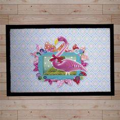 Pink Flamingo Doormat, $22 !!