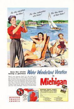1950s Advertisement  Pure Michigan