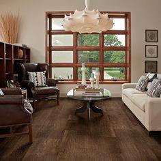 Hardwood Flooring - HGTV Home Flooring by Shaw | Hillcrest TV801 Bar Harbor Brown