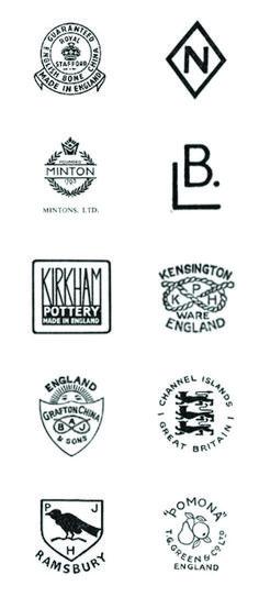 vintage ceramic back stamps 2