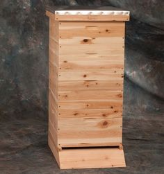 For the #beekeeper in everyone, gift an artificial #beehive made from white #cedar that will protect the insects and allow them to build colonies. #giftideas