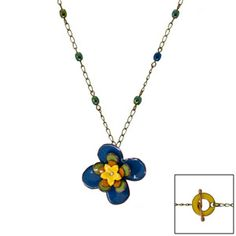 Garden Blossom Necklace | Fusion Beads Inspiration Gallery