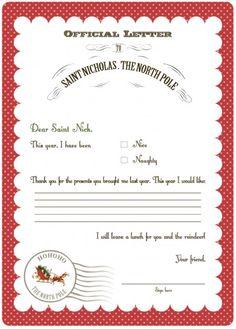 Free Printables for Christmas!