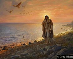 IN THE WORLD, NOT OF THE WORLD by Greg Olsen