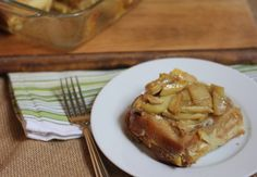 Overnight Oven Apple French Toast