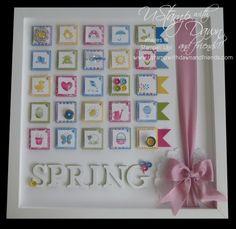 Spring Sampler Frame