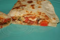 BEST Chicken Quesadillas!!!