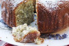 Lime & Lavender Poppyseed Cake