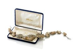 Amy Tavern Since 1882, Since 1976 necklace, view 1 stones from the foundation of my childhood home, sterling silver, vintage blue velvet box