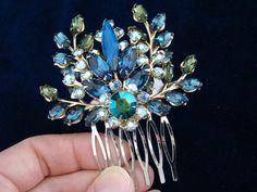 Something blue for your hair #wedding #bride #hair #blue