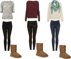 Cute fall outfits with uggs photo