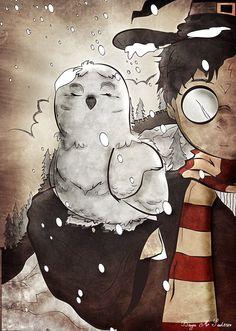 """Harry and Hedwig"" by Bayu Sadewo"