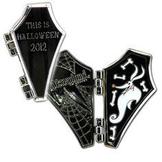 Disney Zero This Is Halloween 2012 Hinged Coffin Disneyland Pin LE 1500