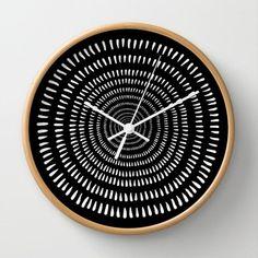 DIY inspiration-Time Warp Wall Clock