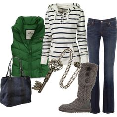 cute and comfy boot, cozy winter, style, winter looks, fall outfits, winter outfits, casual outfits, stripe, cold weather