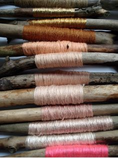 wood, pink, gold,...