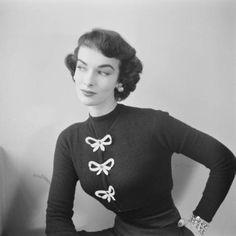 Sweater Fashions, 1952
