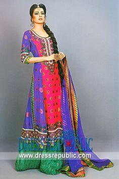 Colorant Victor, Product code: DR8728, by www.dressrepublic.com - Keywords: EID 2012 Dresses, Shalwar Kameez for EID 2012 Collection, Salwar Kameez for EID Online Shop