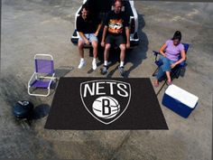 "Brooklyn Nets Ulti-Mat 60""96""   Nets Store"