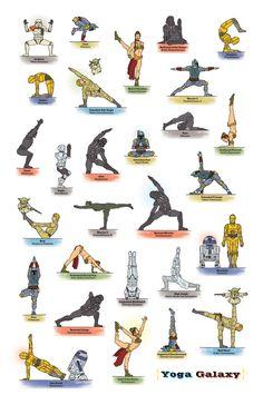 yoga galaxy