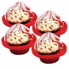 Genius! Bake & Store Cupcake Holders (Set of 12)