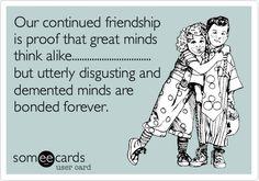 Funny Friendship Ecard