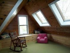 attic playroom
