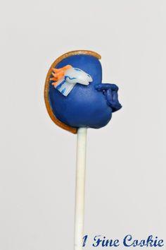 Denver Broncos Football Cake Pops by 1 Fine Cookie