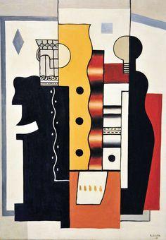 Fernand Leger - Still Life: King of Diamonds at Hirshhorn Modern Art Museum