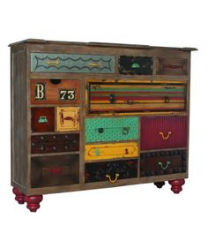 #Mosaic #Treasures #Chest love #patchwork #drawers