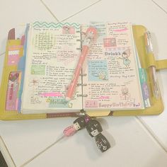 """This planner is AMAZING!!!! Great Idea! Makes me want to """"trick out"""" my planner...and make it more fun to use!"""
