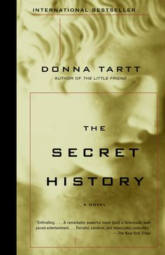 The Secret History by Donna Tartt  Jacket design by Chip Kidd