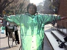 Amazing and frightening nanotechnology invisibility cloak produced in Japan