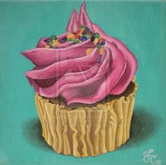 The Best Cupcakes In The World by ~DarkGuardiann on deviantART #cupcake #painting #design cupcak tattoo, deviantart cupcak, cupcak art, cupcak paint