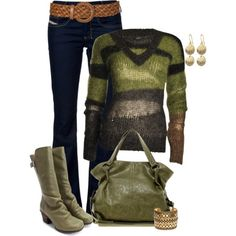sweater, woman fashion, fall fashions, jeans, fall outfits, work outfit, fall fashion trends, woman style, shades of green