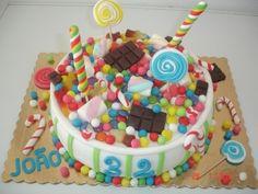 candi cake, bday, cake idea, candies, candi extravaganza