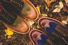 Image of Social Status x Grenson 2013 Holiday Wingtip Brogue Boot Preview