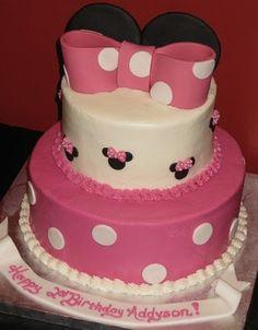 Katie's Cakes: Mini Mouse Cake