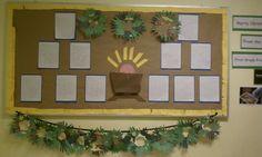 Inspiration Clothesline: teacher tidbit - bulletin boards