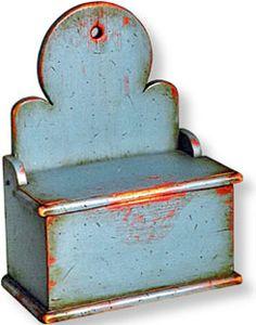 Large Colonial Salt Box -