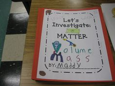 Great ideas for studying matter including books to read and experiments.