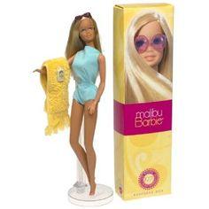 Malibu Barbie! Those sunglasses!  I loved this one.