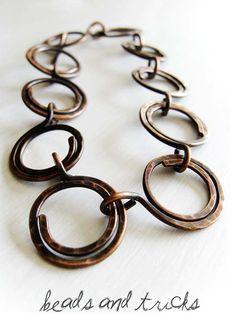 bead, chain, wire bracelets