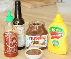 Nutella Barbecue Sauce -- wait, WHAT???