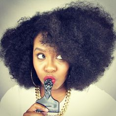 Her fro though!!!