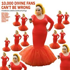 http://facebook.com/DivineOfficialFanPage #Divine #BabsJohnson #JohnWaters #PinkFlamingos