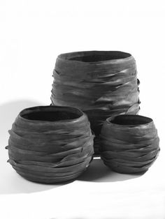 recycled tyre plant pots